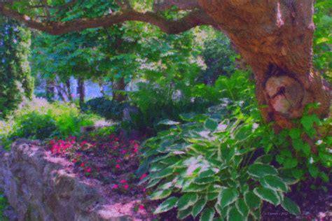 Return To The Secret Garden Painting By Liz Evensen