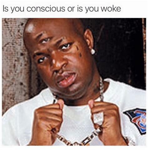 Woke Memes - is you conscious or is you woke dank meme on sizzle