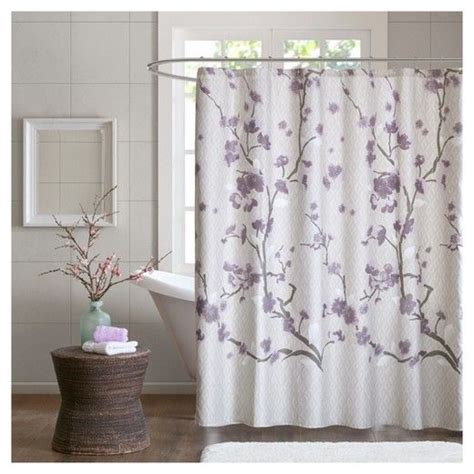 25 best ideas about purple shower curtains on