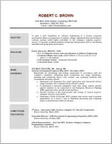 Resume Objective It by Qualifications Resume General Resume Objective Exles