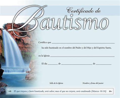 diplomas de bautismo para imprimir precio certificado de bautismo catolico para imprimir