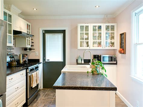 My Husband Let Me Paint The Kitchen Pink Kitchen Pendant Lighting Over Sink Kohler Undertone Toto Granite Composite Sinks Reviews A Integrated Faucets Stoppers