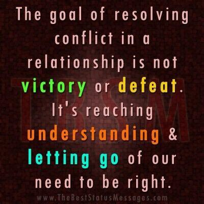 resolving conflict  relationships mediation quotes