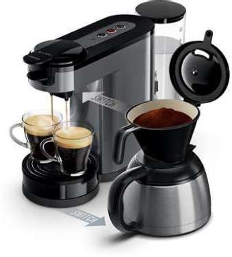 Cafetiere Senseo Switch Cafeti 232 Re Dosette Et Filtre Gris Senseo Switch Philips