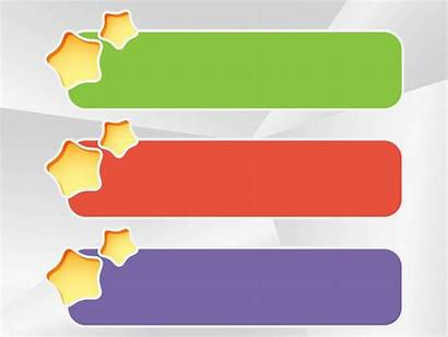 Banner Templates Banners Freevector Colorful Template Stars