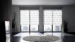 Rollos Für Große Fenster : gro e fensterfront gardinen wohn design ~ Orissabook.com Haus und Dekorationen