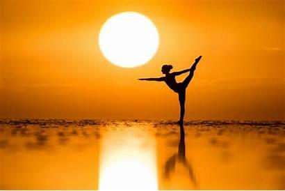 Sunset Sun Yoga Dance Mood Henry Kim