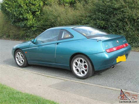1998 Green Alfa Romeo Gtv Coupe (series 1)