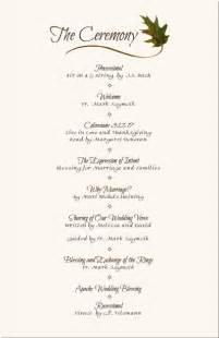 wedding reception program wedding programs wedding program wording program sles program exles wedding program templates