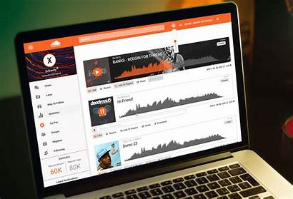Soundcloud Concept Website Redesign Md Gets Examples