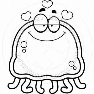 Cartoon Jellyfish Clipart | Free download best Cartoon ...