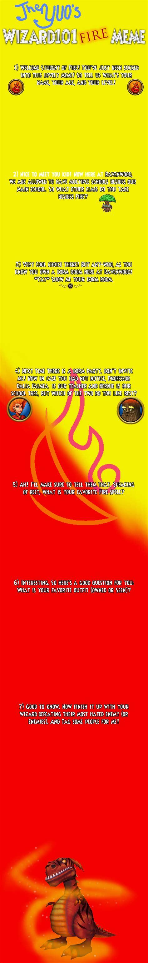 Wizard101 Memes - wizard101 fire meme by theyuo on deviantart