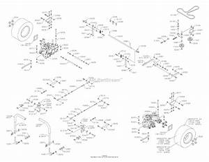 Dixon Speedztr 38  2005  Parts Diagram For Drive Train