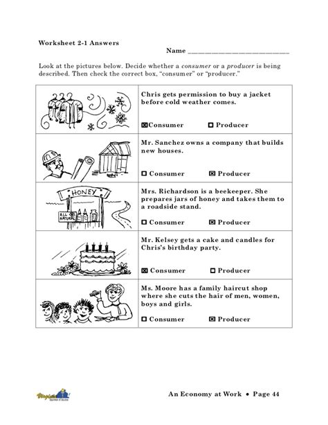 opportunity cost worksheets worksheets for all