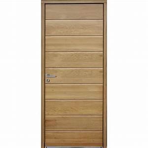 porte d39entree en bois massif a isolation thermique With porte d entrée k par k