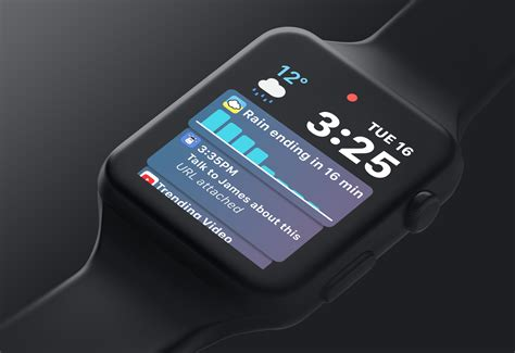 watchos 5 concept is so gorgeous apple needs to implement it probably won t
