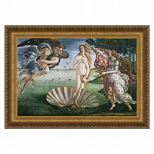 Design Toscano DA168 The Birth of Venus, 1485 Framed Art
