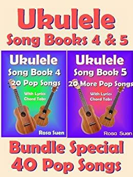 Essential elements ukulele book 2 is a great next step for players who are ready to expand their knowledge of music and further develop their skills on the ukulele. Ukulele Song Book 4 & 5 - 40 Popular Songs With Lyrics and Ukulele Chord Tabs - Bundle of 2 ...