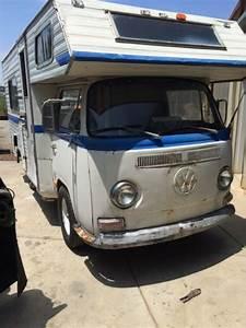 1969 Vw Bus Custom Camper Motorhome Ex