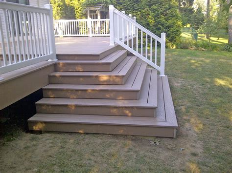 vinyl porch railing railing and decking poly enterprises
