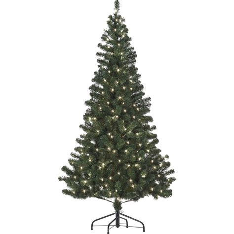starlite 6 ft pre lit canadian fir with clear lights