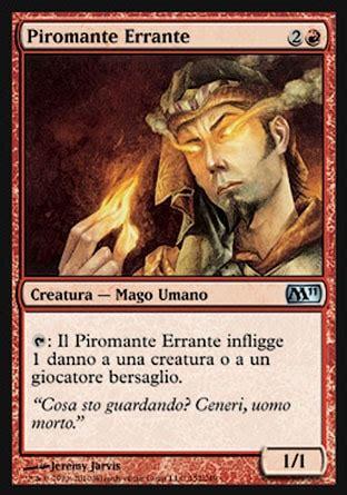 Pyromancer Deck Legacy by Piromante Errante Magic 2011