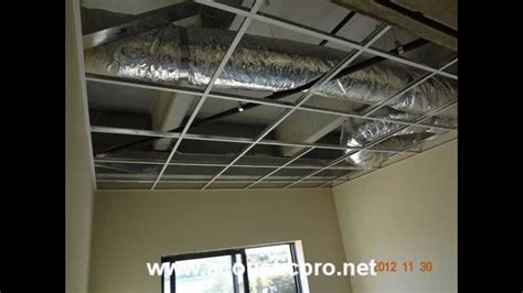 acoustical drop ceiling tile grid install acoustic pro