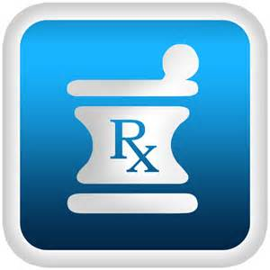 RX Mortar and Pestle Clip Art