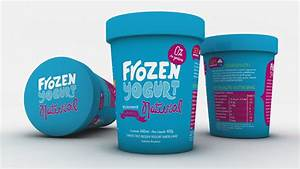 Frozen Yogurt — The Dieline | Packaging & Branding Design ...