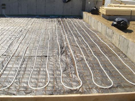 basement slab  radiant heat framing contractor talk