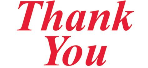 Clip Thank You Thank You Black And White Clip Images