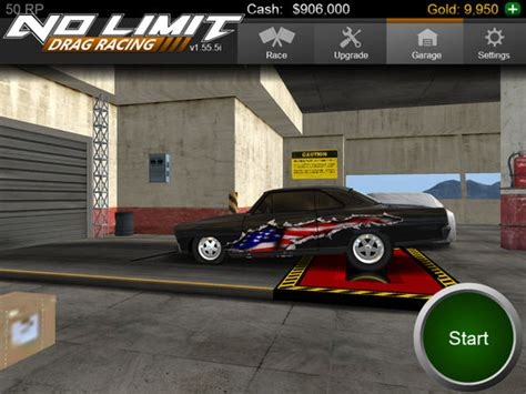 No Limit Drag Racing (games