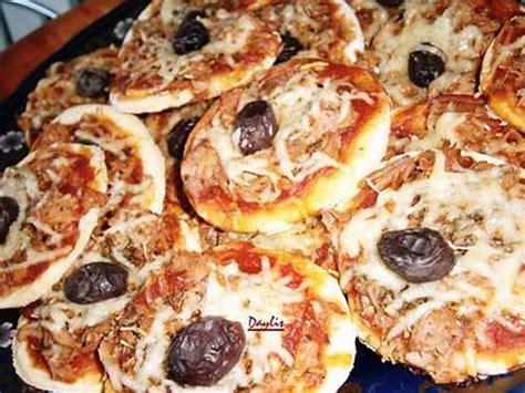 recettes mini pizza