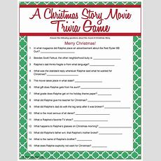 A Christmas Story Movie Trivia  Christmas Games