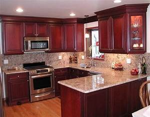 Kitchen colors with cherry cabinets desjar interior for Best colors for kitchens with cherry cabinets
