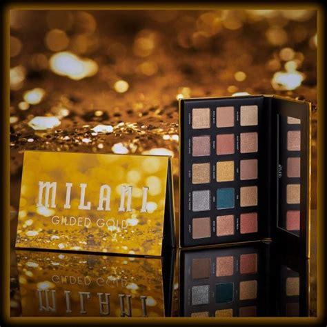 nuevas paletas gilded de milani cosmetics belleza