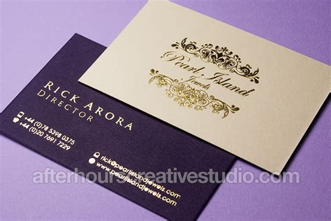Luxury Business Cards Kick Start Your Business With