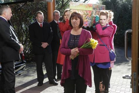 julia goulding actress wikipedia hayley cropper funeral roy s at breaking point as he
