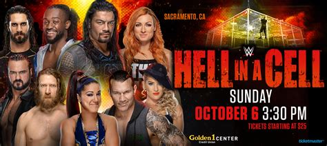 wwe hell   cell goldencenter