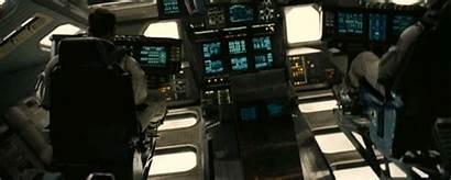 Spaceship Interstellar Endurance Ranger Animated Spinning Fi