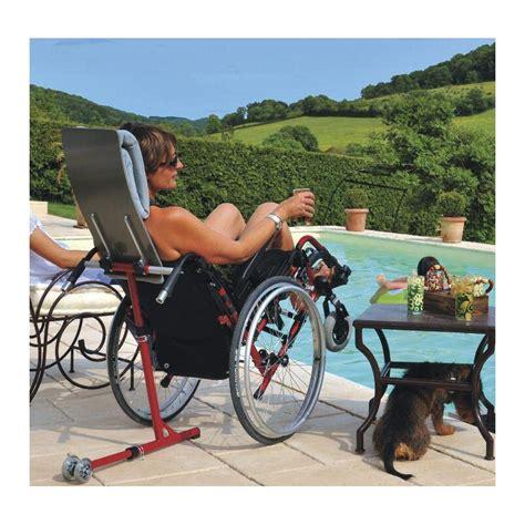 kitcool pour une position de d 233 tente id 233 ale avec fauteuil roulant manuel