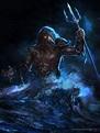 Neptune by alejowar   Greek mythology art, Greek mythology ...