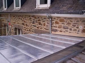 Rehausse Velux Toit Faible Pente : toiture en zinc et zinguerie ~ Nature-et-papiers.com Idées de Décoration