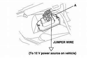 Where Do I Find The Blower Motor Resistor On An 03 Honda