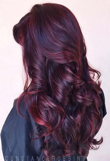 amazing dark red hair color ideas page    stayglam