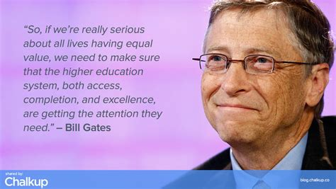bill gates  education quotes quotesgram