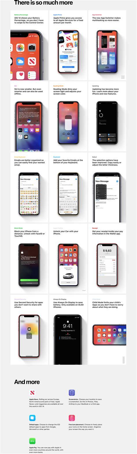 iOS 14 concept on Behance