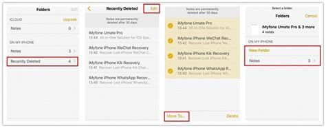 how to retrieve deleted notes on iphone 4 ways to recover deleted notes on iphone ios 11 3 supported
