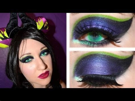 maleficent halloween makeup tutorial youtube