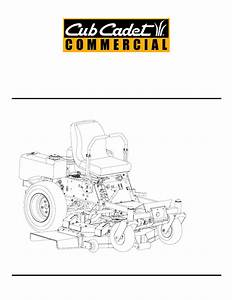Cub Cadet Z - Wing 48 Service Manual